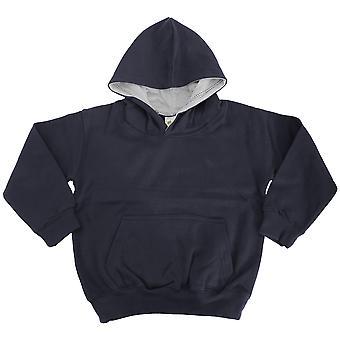 Awdis Kids Varsity Hooded Sweatshirt / Hoodie / Schoolwear