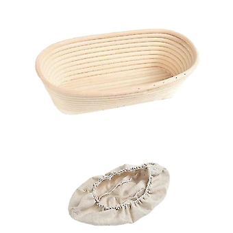 Baskets handmade bohemian rattan wicker food storage baskets 28x14x8cm