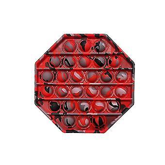 Zeitgenössisch inspirierter Push Pop Silikonblase Autismus Anti Stress sensorisches Fidget Spielzeug (N)