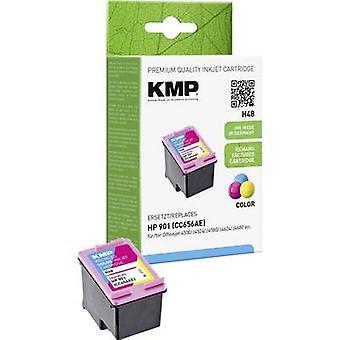 Tinta KMP sustituye HP 901 Compatible cian, Magenta, amarillo H48 1711,4560