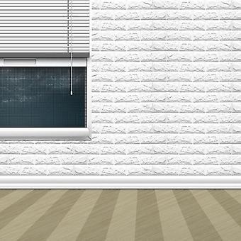 3Dレンガ模様壁紙ベッドルームリビングルームモダンウォール背景装飾