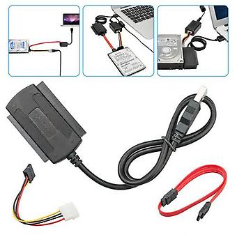 Sata / Pata / Ide To Usb 2.0 Adapter Converter Cable For 2.5 / 3.5 Hdd