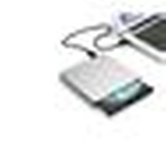 Usb Cd-dvd-rw Reader / Writer For Asus Vivobook Pc External Portable Connection (silver)