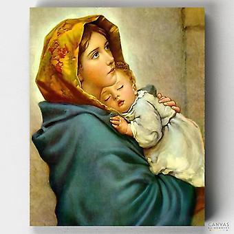 מרי וישו התינוק