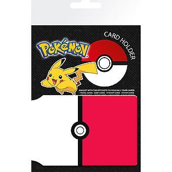 Pokemon Pokeball kártyatartó