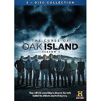 Maldição de importação EUA de Oak Island [DVD]