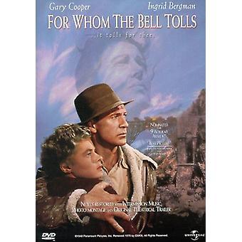 Für wen die Glocke läutet [DVD] USA importieren