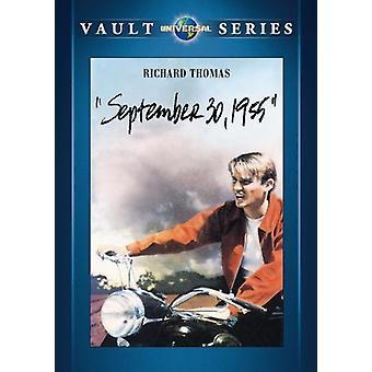 30 de setembro de 1955 [DVD] EUA importar