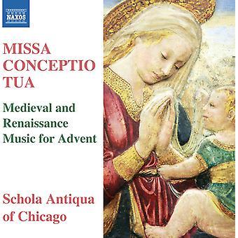 La Rue / Anderson / Schola Antiqua von Chicago - Missa Conceptio Tua [CD] USA import