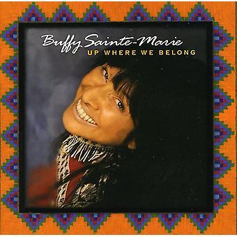 Buffy Sainte-Marie - Up Where We Belong [CD] USA import