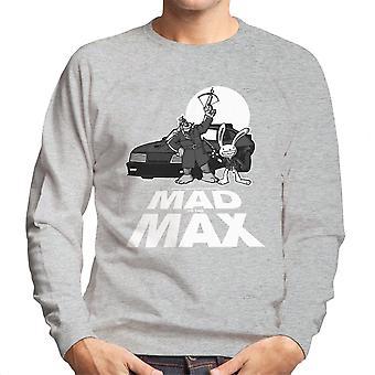 Mad To The Max Sam And Max Men's Sweatshirt