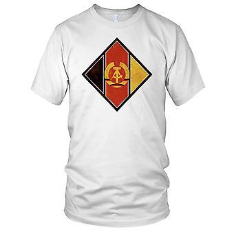 Av NVS (DDR) Nationale Volksarmee Grunge effekt Mens T-skjorte