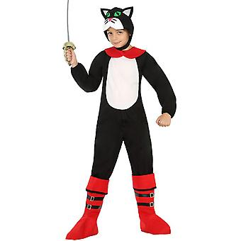 Zwierzę stroje dzieci kot w butach kostium