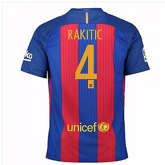 2016-17 Barcelona sponsorowane włodarze (Rakitic 4) - dla dzieci