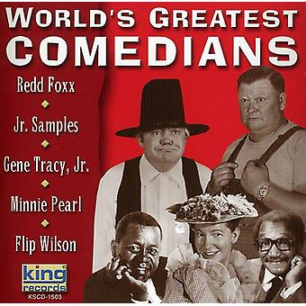 Fox/Tracy/Pearl/Samples/Wilson - World's Greatest Comedians [CD] USA import
