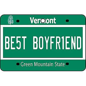 Vermont - bedste kæreste nummerplade bil luftfriskere