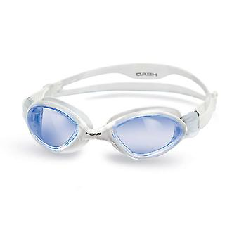 Head Tiger Swim Goggle - Blue Lens - Clear Frame
