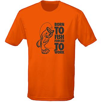 Born To Fish Fishing Carping Mens T-Shirt 10 Colours (S-3XL) by swagwear