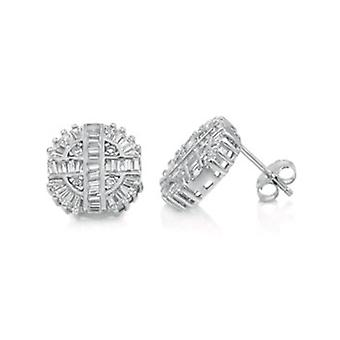 Sterling 925 Silver studs - BAG 13 mm