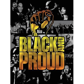 Black And Proud Poster Power Fist Art Print (18x24)