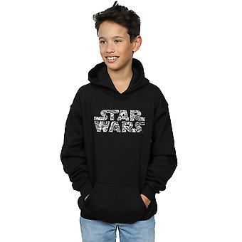 Star Wars pojat koriste Logo huppari