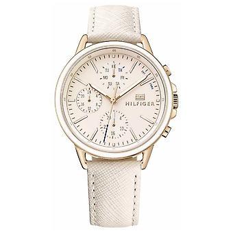 Tommy Hilfiger mulheres ' s rosa de ouro com pulseira rosa 1781789 Watch