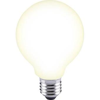 Sygonix LED (monochrome) EEC A++ (A++ - E) E27 Globe 12 W = 88 W Warm white (Ø x L) 80 mm x 115 mm Filament 1 pc(s)