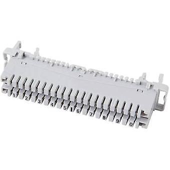 EFB Elektronik 46006.2 LSA blocks series2 profile Terminal strip 2/10, without color code 10 double loaders Content: 1 pc(s)