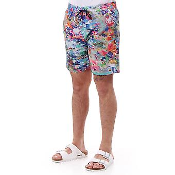 PS Paul Smith Long Splash Print Nuoto Breve