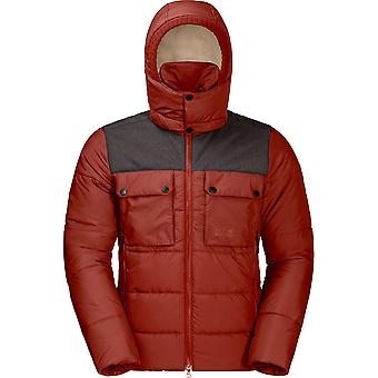 Jack Wolfskin Mens haute gamme chaud isolé Windproof Jacket Coat
