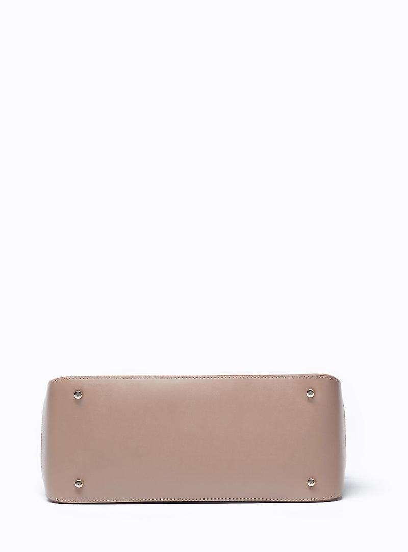 Viver Leather Handbag Leola Stone