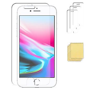 3-Pack iPhone 8 Bildschirmschutz Transparent