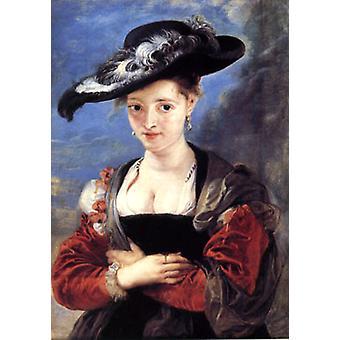 Susanna Fourment tai Le Cbapeau de Paille, Peter Paul Rubens