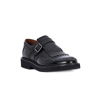 Frau print black shoes