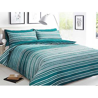 Pieridae Textured Stripe Duvet Cover Quilt Cover Bedding Set