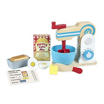 Melissa & Doug trä Make-a-Cake Mixer Set
