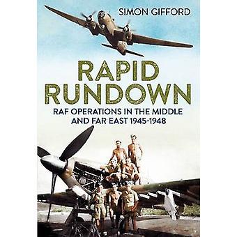 Rapida carrellata - operazioni di RAF nel mezzo ed Estremo Oriente 1945-1948 di