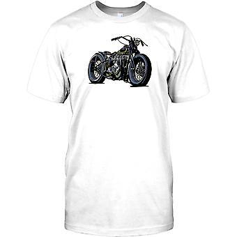Triumph Bobber - klassieke aangepaste motorfiets Mens T Shirt