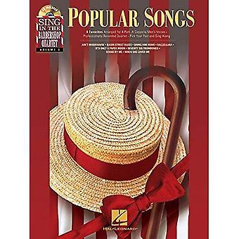 Sing In The Barbershop Quartet Vol 4 Popular Songs Ttbb BK/CD