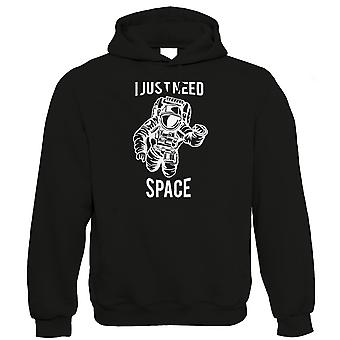 I Just Need Space, Hoodie - Spaceman Galaxy Star Astronaut NASA Gift Him Her