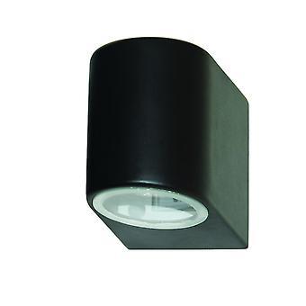 Outdoor LED-Wand-Leuchte - 8008-1BK-LED Scheinwerfer Schwarz