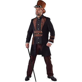 Mannen kostuums Steampunk mannen fancy dress kostuum