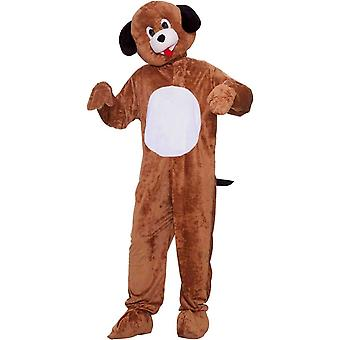 Brown Puppy Mascot felnőtt jelmez