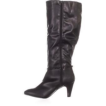 Karen Scott Womens Hollee tissu WC amande Toe Knee High Fashion bottes