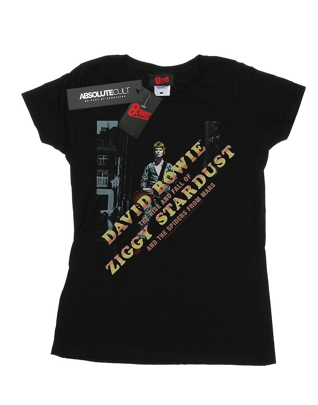 David Bowie Women's Ziggy Diagonal T-Shirt