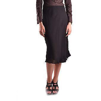 Liefde Moschino Ezbc061007 Women's Black Viscose Skirt