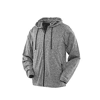 Spiro Mens Hooded T-Shirt Jacket