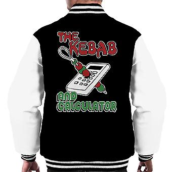 Kebab And Calculator The Young Ones Men's Varsity Jacket