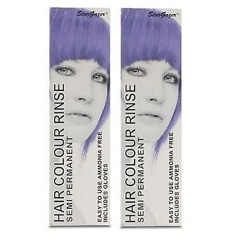Stargazer semipermanente cabelo cor corante roxo (2-Pack)