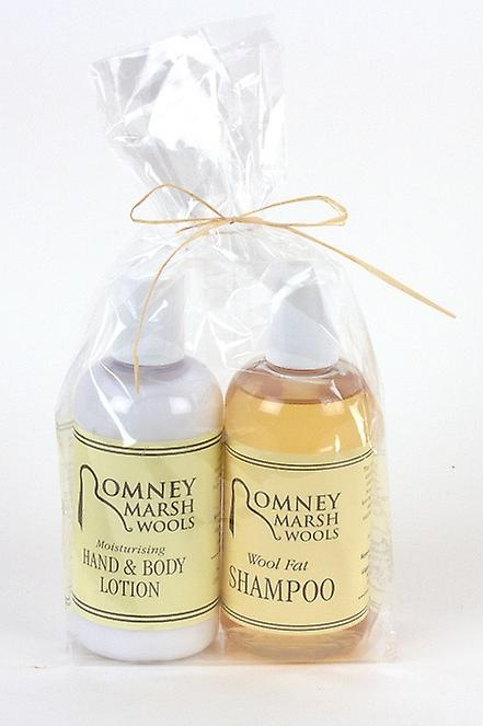 Duo 150ml Toiletries Gift Set  - Shampoo + H&B Lotion